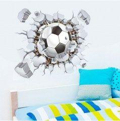 muursticker voetbal bal | Muurstickers