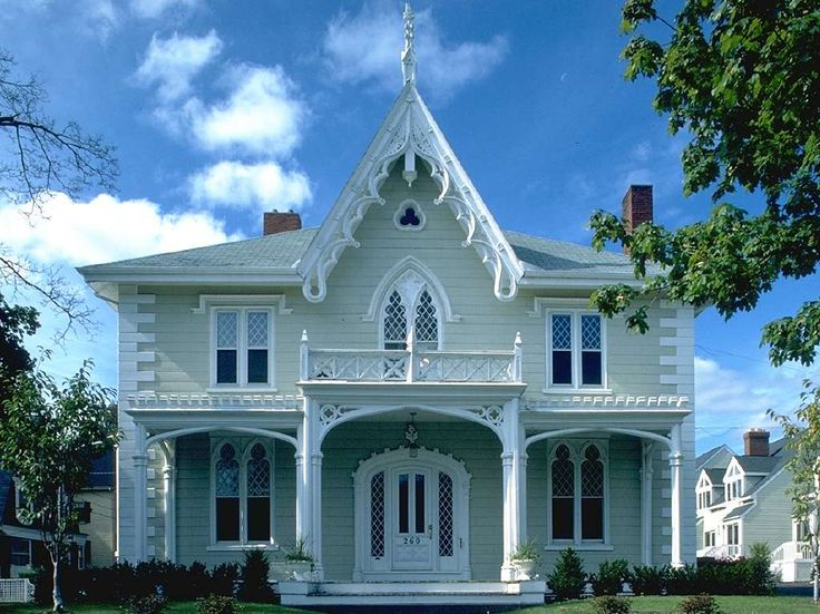 608 Best Gothic Revival Victorian Houses Images On Pinterest