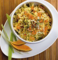 Contorno di miglio con porri e zucca - Tutte le ricette dalla A alla Z - Cucina Naturale - Ricette, Menu, Diete
