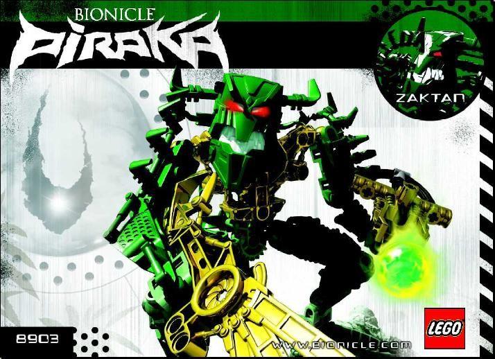 Bionicle - Piraka Zaktan [Lego 8903]