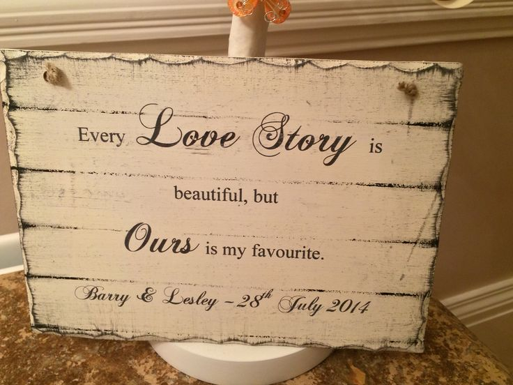 Table plaque