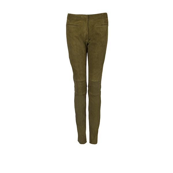 #Windsor leather trousers for the true #utilitarian look.