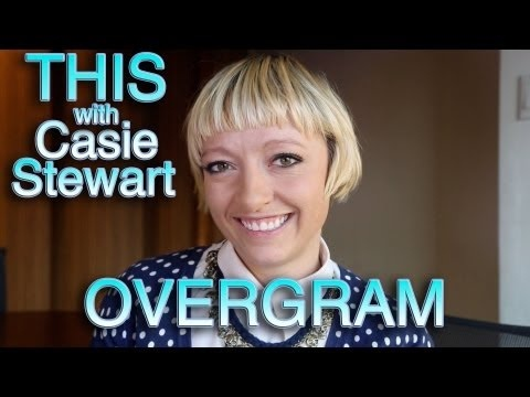 THIS with Casie Stewart: Overgram - Learn how to add text to your instagram pictures!