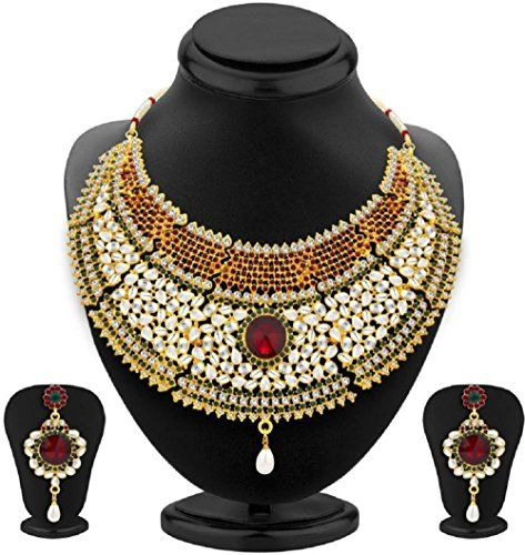 Bollywood Designer Gold Plated Green & Red Stone Wedding ... https://www.amazon.com/dp/B06X1D2CXT/ref=cm_sw_r_pi_dp_x_Jl.Pyb5NBKVQ3