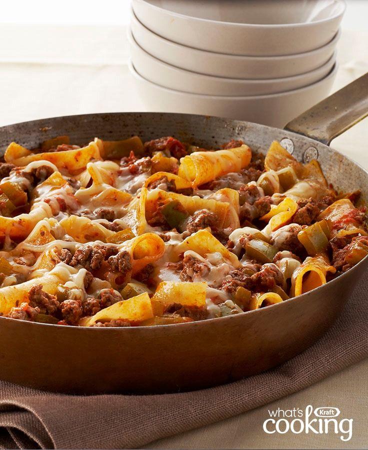 Weeknight Lasagna Toss #recipe