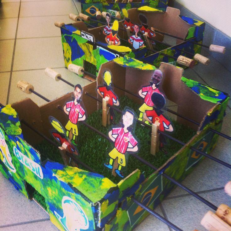 Vaderdag - Father's day DIY Voetbalspel