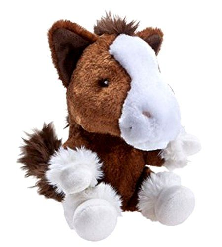 Build a Bear Workshop SF Smallfrys Clydesdale Pony Horse 7 in Mini Stuffed Plush Toy Animal -- You can find more details by visiting the image link.
