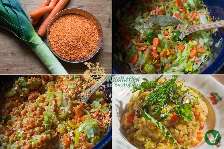I luštěniny se hodí pro jarní stravování. Červená čočka je zdravá, rychle hotová a dobře stravitelná. Přidáte-li zeleninu a navíc divoké byl...