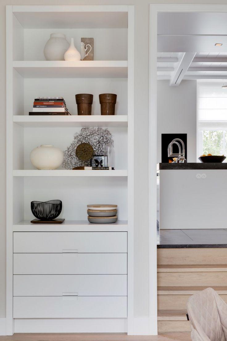 25 beste idee n over luxe kantoor op pinterest ingebouwde boekenkasten kantoor aan huis en - Deco kamer kantoor ...