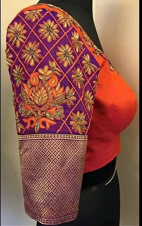 Hand work blouse