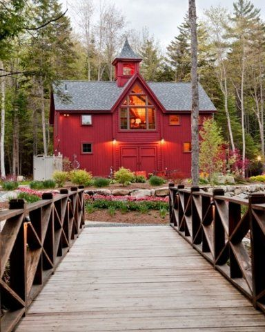 No, I wasn't born in a barn, but I would sure like to live in one!