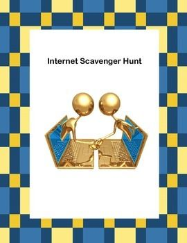 checkpoint internet scavenger hunt View notes - it 220 week 3 checkpoint web scavenger hunt from computer s manajemen at universitas indonesia appendix b web scavenger hunt to complete this assignment, you are to search for a.