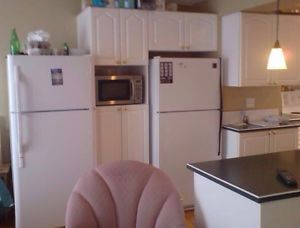 Includes double bed, kitchen facilities, Wireless Internet, cable, Telus phone with free long distance in North America, washer & dryer. Non-smokers, no drinking, no drugs, no partying, quiet and respectful of other tenants, $700 per month and $700 Damage Deposit. Close to plant and city bus stops. We prefer you text Paul at 780-531-7254 Fort McMurray cell, email, or leave messages on the phone for Paul 780-531-7254 days & evenings.