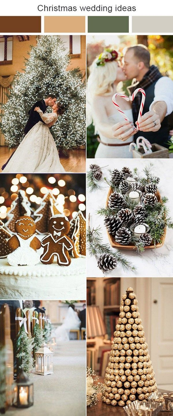 10 Green And Red Christmas Wedding Ideas For Winter 2020 Wedding