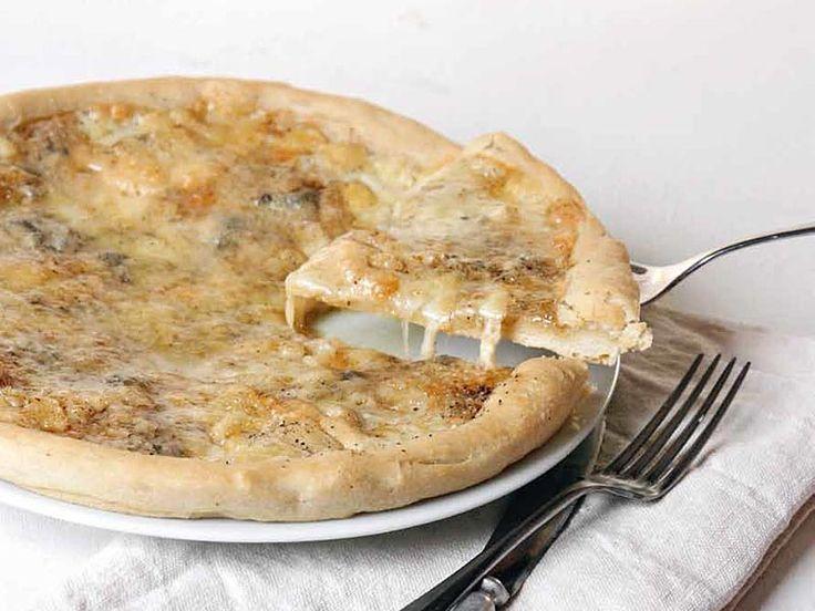 Ricetta Pizza ai quattro formaggi