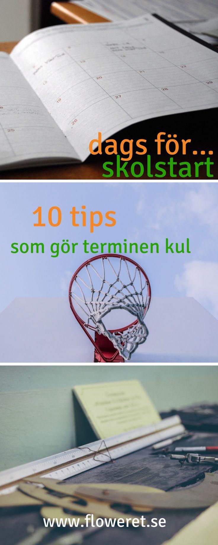 Skolstart – 10 tips & trix