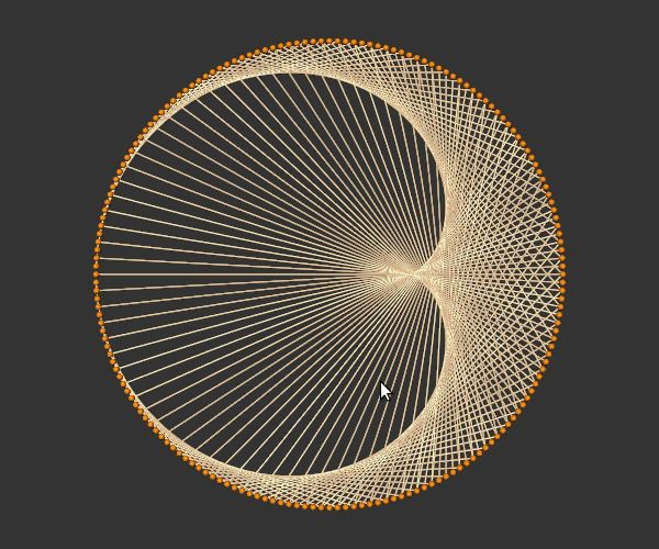 string art tutorial - Buscar con Google                                                                                                                                                                                 Más