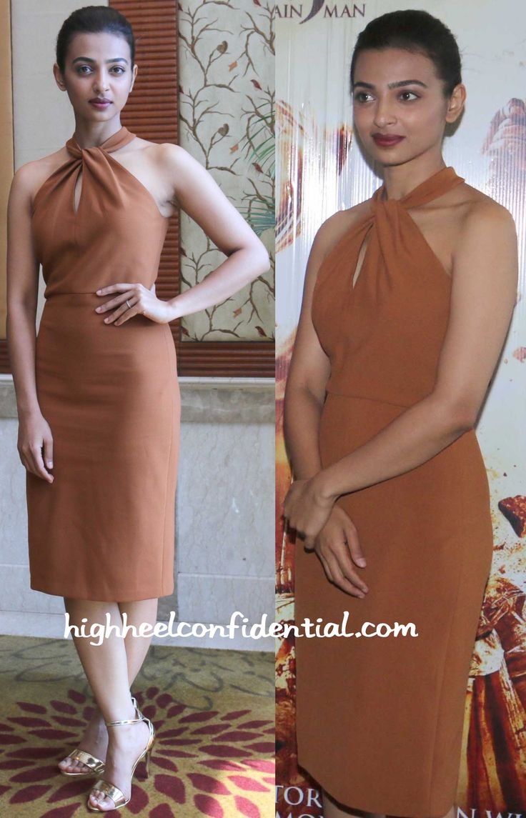 Radhika Apte (In Zara And Payal Khandwala) At Manjhi- Mountain Man Promotion And…