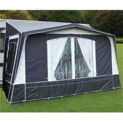 Quest Kensington Plus Caravan Porch Awning - Aluminium Frame