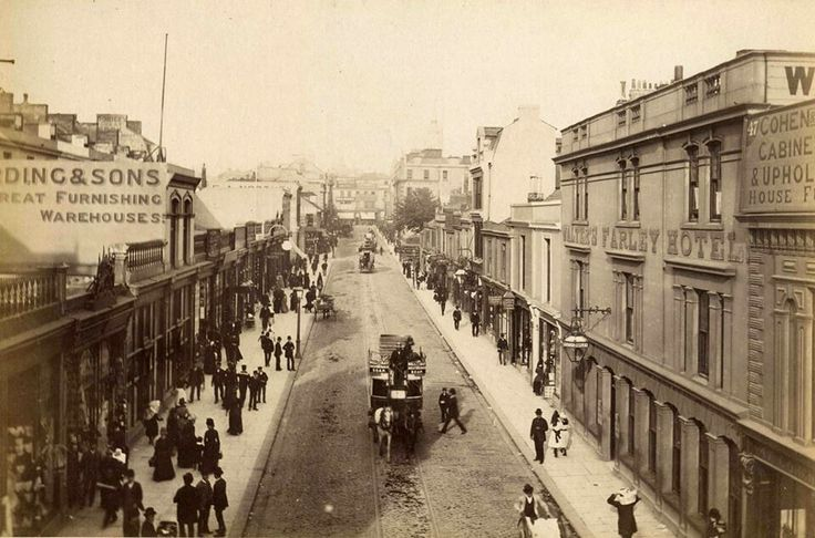 Union Street, Plymouth, UK. Back when it was nice!