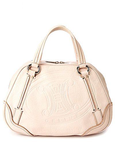 C¨¦LINE Ecru Embossed Leather Bowler Bag | My Handbag Problem ...