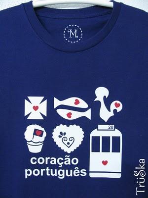 portuguese symbols t-shirt