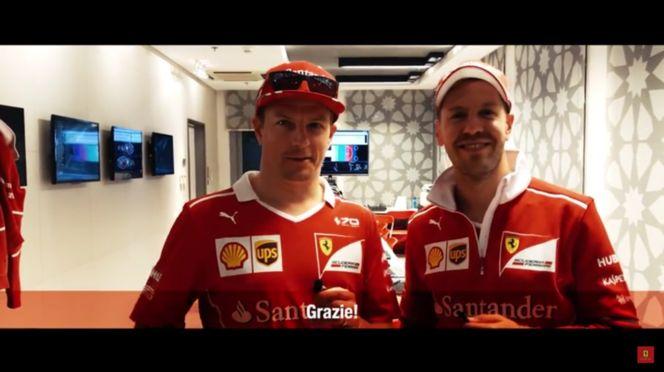 Scuderia Ferrari - Message From Kimi Räikkönen And Sebastian Vettel After The Abu Dhabi Grand Prix (VIDEO)