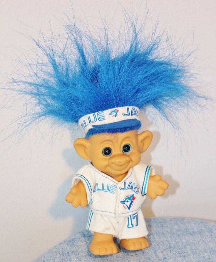 Toronto Blue Jays Forest Troll 17 Limited Edition 1992 World Series Baseball #ForestTroll #TorontoBlueJays