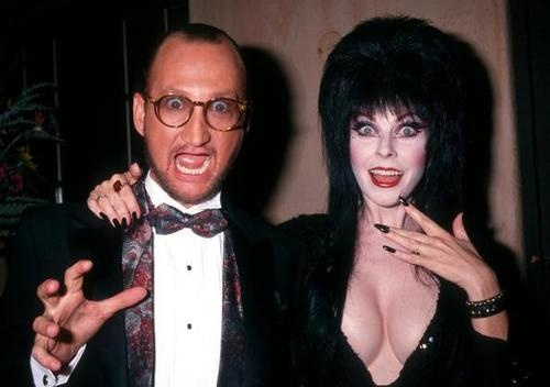 Robert Englund and Elvira