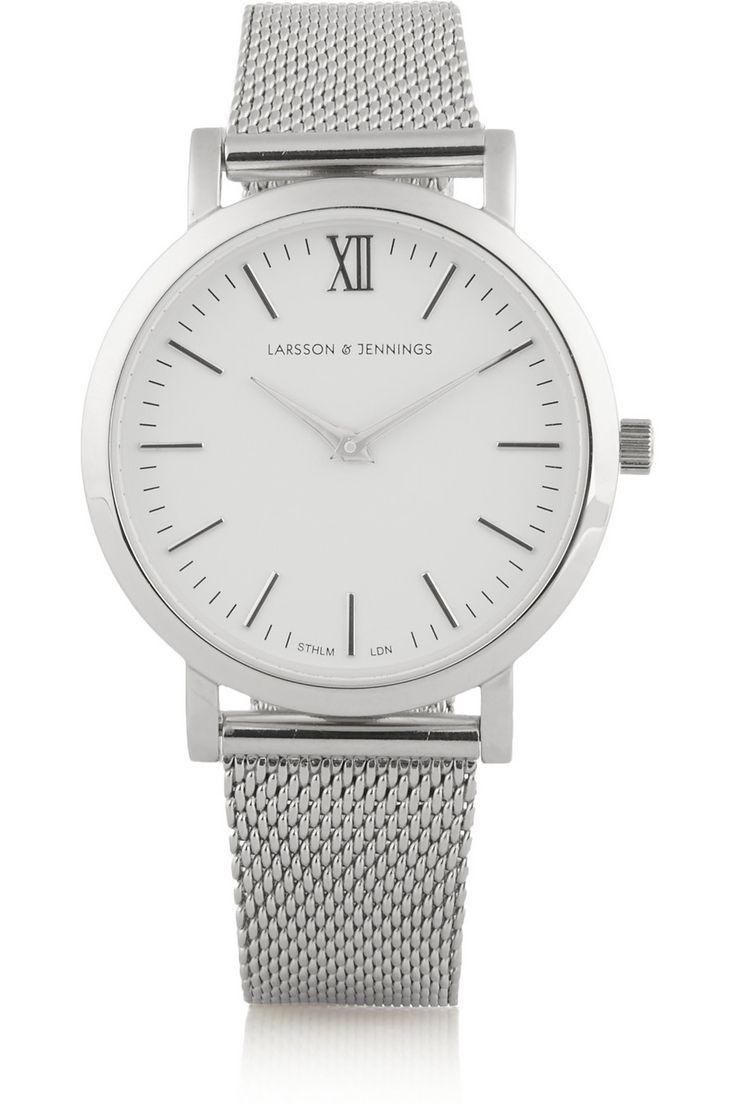 Larsson & Jennings | Liten silver-plated watch | NET-A-PORTER.COM