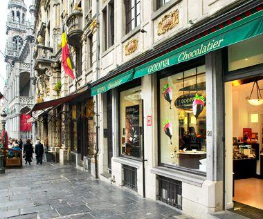 「ゴディバ」第1号店、ブリュッセル・グランプラス店
