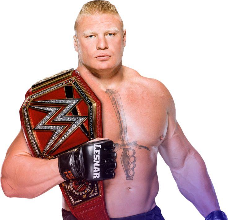 Brock Lesnar WWE Universal Champion 2017 PNG by AmbriegnsAsylum16.deviantart.com on @DeviantArt