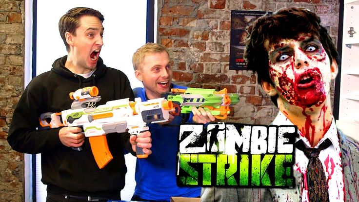 Zombie Survival Kit with Nerf Blasters #humor #funny #lol #comedy #chiste #fun #chistes #meme