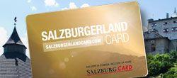 SalzburgerLand Card, © SLT, Abbildung der goldenen SalzburgerLand Card