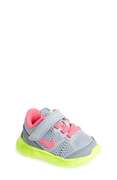 Nike 'Dual Fusion Run' Athletic Shoe (Baby, Walker & Toddler) available at #Nordstrom