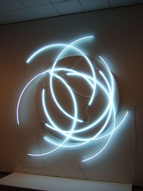François Morellet #neon #light #Morellet
