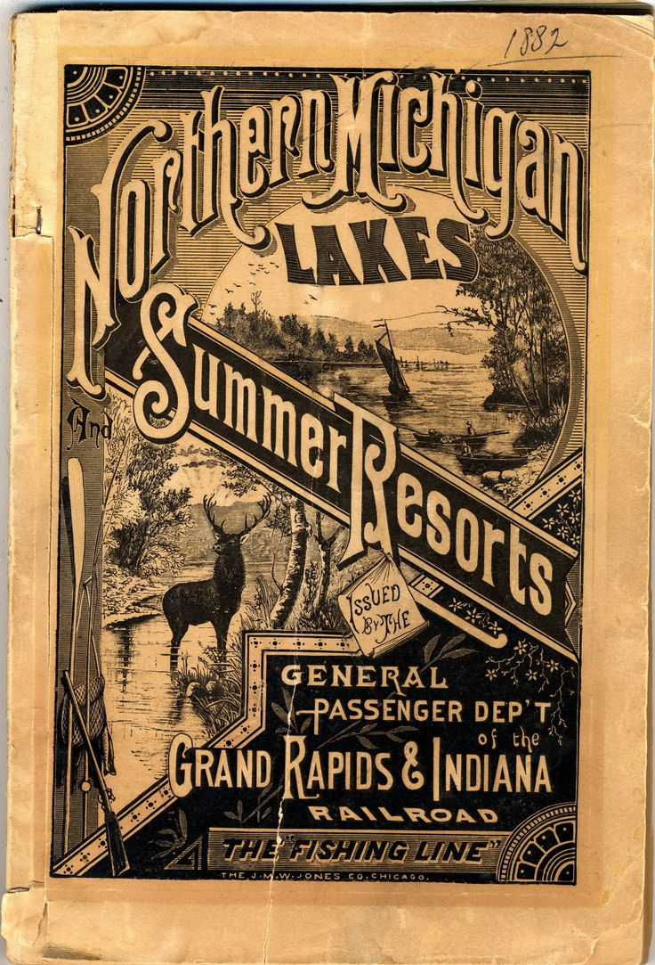 Very Victorian Summertime Travel Ad - Retroette