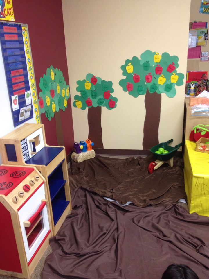 Apple Orchard Dramatic Play Wheel Barrow Apples Apple