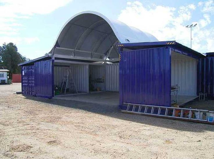 Port Shipping Containers supply an award winning range of shipping container shelters guaranteed to suit your on-site storage needs. Ph: 1300 957 709.