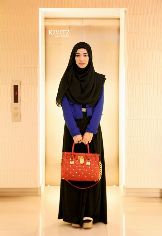 We @hijabmuseum #hiijabmuseum http://www.hijabmuseum.com love this look! Thursday Morning to Outram Park | Kivitz
