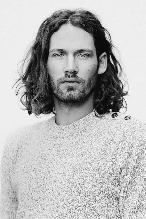 ten Men's Long Curly Hairstyles | Curly Men Hairstyles