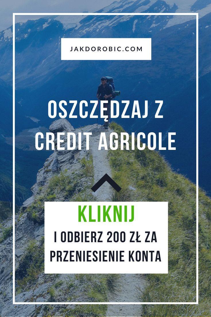 Credit Agricole 200 Zl Premii Za Przeniesienie Konta 3 W Skali Roku Na Rachunku Oszczedzam Oraz Kredyt Na Kwote Do 3000 Zl Z Rrso 0 Bonus