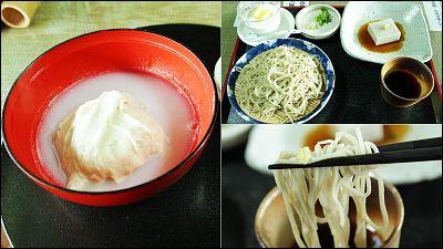 そばのルーツ「そばがき」などを奈良の山奥の手打ちそば店「黄色いのれん」で食べてきました - GIGAZINE