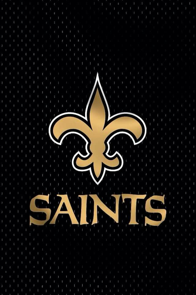 New Orleans Saints wallpaper iPhone Black n' Gold