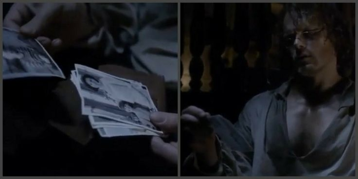 Jamie looking at pictures of Brianna while locked up below deck of the Artemis - Outlander_Starz Season 3 Voyager - Episode 310 Heaven and Earth - November 19th, 2017