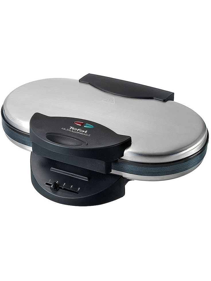 Elegant och kompakt våffeljärn i stål från Tefal - Tefal Ultra Compact waffle double