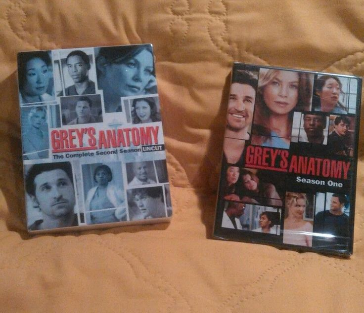 Greys Anatomy Season One and Two sealed brand new dvd sets