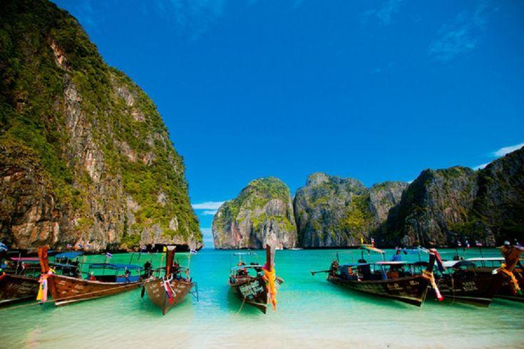 Maya Bay, Phi Phi Leh, Thaiföld
