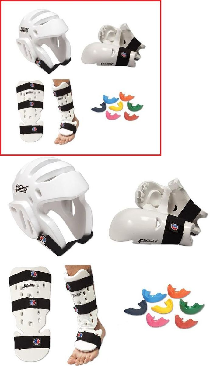 Other Combat Sport Protection 179783: Taekwondo Sparring Gear Set Foam Protection Tkd Package Head Hand Shin Instep -> BUY IT NOW ONLY: $67.95 on eBay!