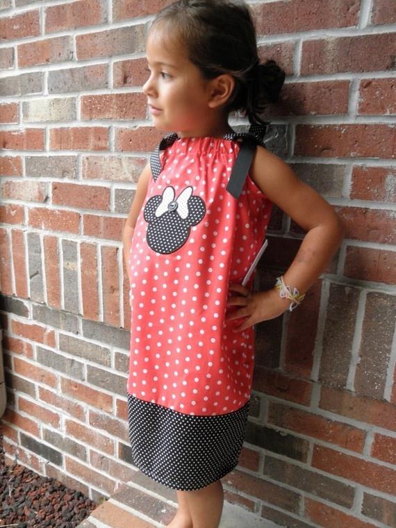 Disney Minnie Pillowcase Dress for Girls - Adorable!!Birthday